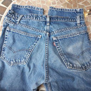 Red Tag Levis Jeans Boyfriend W32 L31 All Cotton